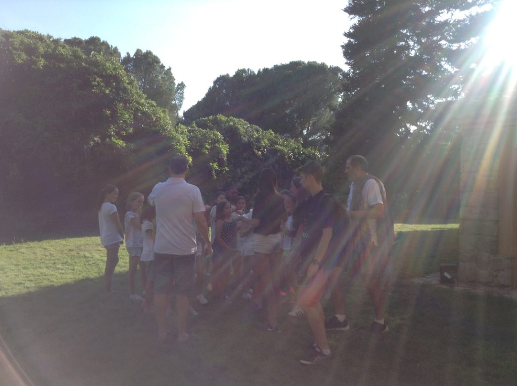 Mind Motivation for Minors - Day 2 of Basket Talent Camp