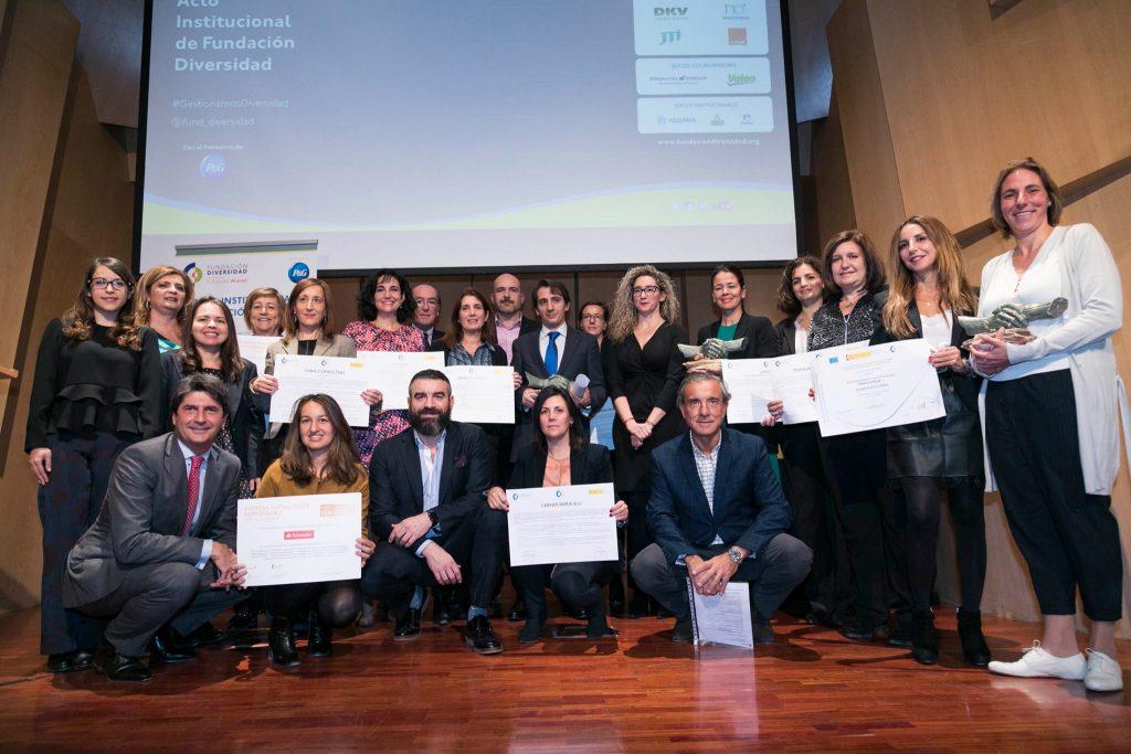 El acto institucional de Fundación Diversidad reúne a las empresas más comprometidas con la gestión de la diversidad