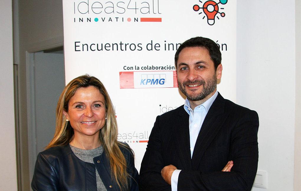 Desayuno innovación ideas4all Innovation - Pilar Roch y Juan Ignacio Marrón