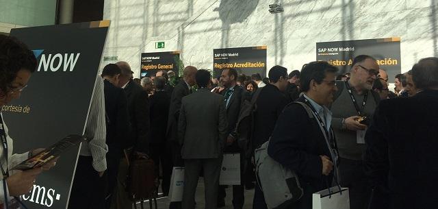 Evento SAP NOW Madrid