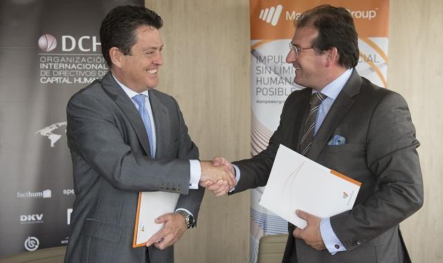 ManpowerGroup y DCH renuevan su acuerdo de colaboración