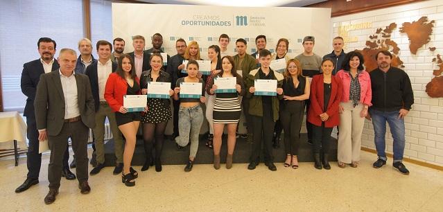 Participantes Creamos Oportunidades en Hostelería de Bilbao_fin de curso Fundación Mahou San Miguel