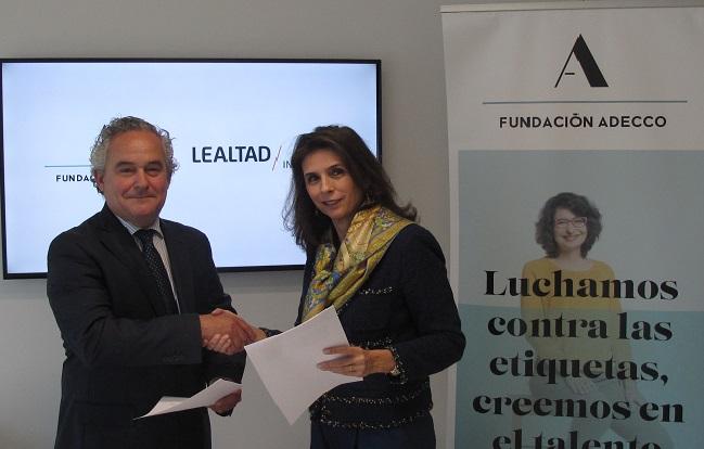 Patricia de Roda y Francisco Mesonero Fundación Adecco Lealtad