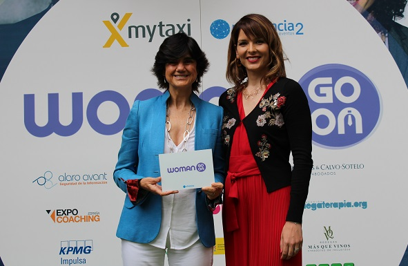 Premio Woman Go On 2018 a Maria Benjumea