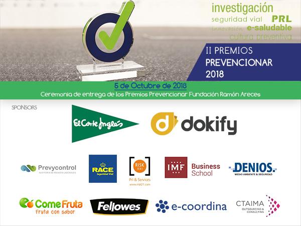 II Edición Premios-prevencionar 2018
