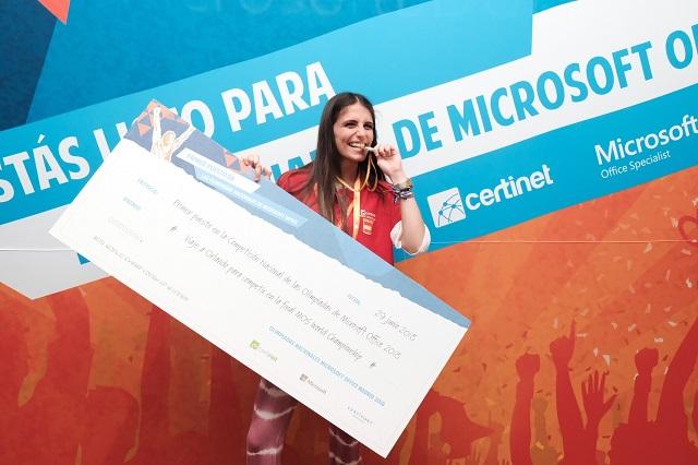 MOS Nerea Ortiz, Ganadora de la Competición Nacional de MOS