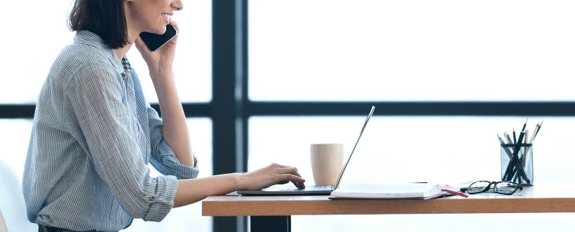 teletrabajadores afirman sentirse a gusto trabajando desde casa