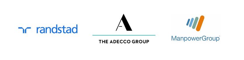 Adecco Group, ManpowerGroup y Randstad: alianza histórica